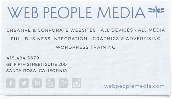 Web People Media Business Card